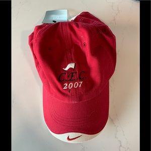 C.E.C. Golf Tournament 2007 Nike Golf Red Hat